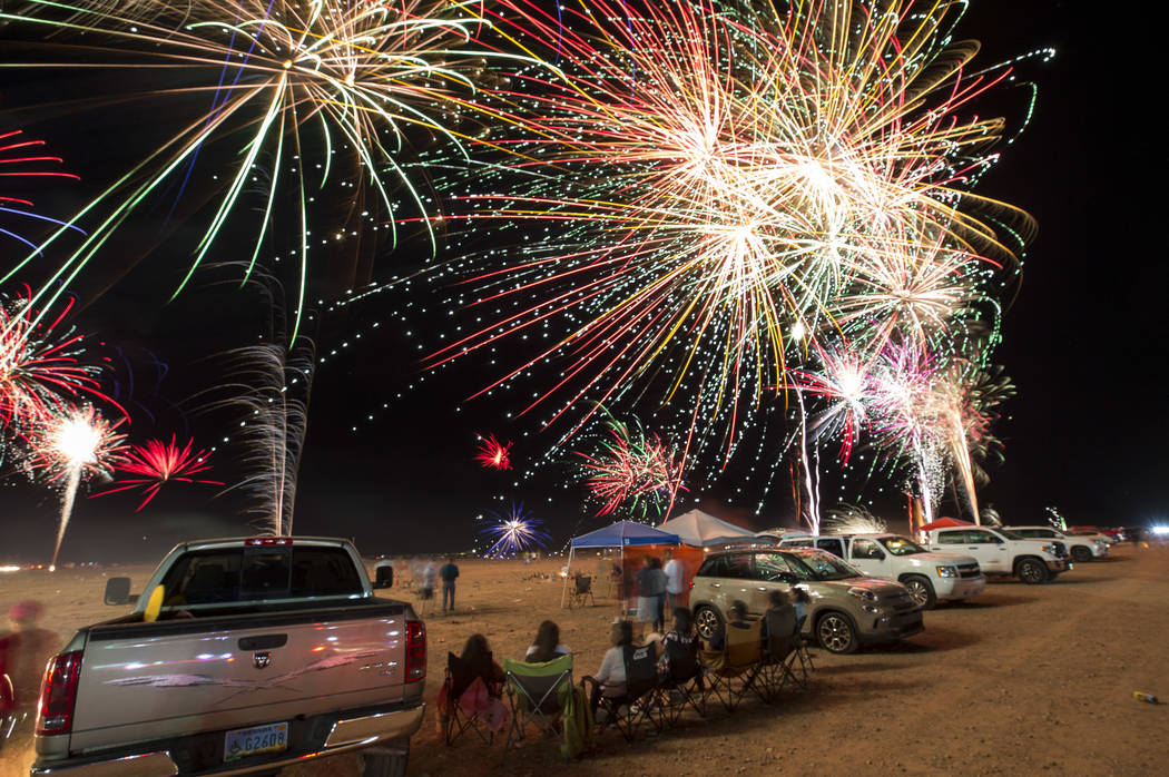 Nevada tribe says man killed in fireworks-related accident