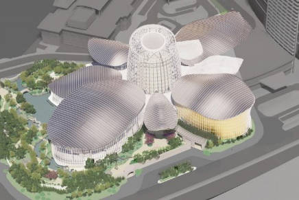 A rendering of Wynn Resort Ltd.'s Crystal Pavilion in Macao.