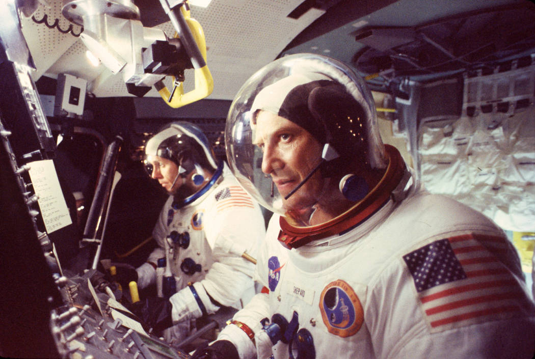 """Ted Levine as Alan Shepard in """"From the Earth to the Moon."""" (Anthony Neste/HBO)"""