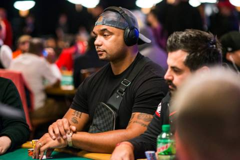 Richard Seymour. (Joe Giron/WSOP)