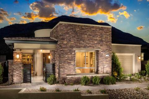 The Summit Collection in Toll Brothers' Regency at Summerlin features the Delamar and Stony Rid ...