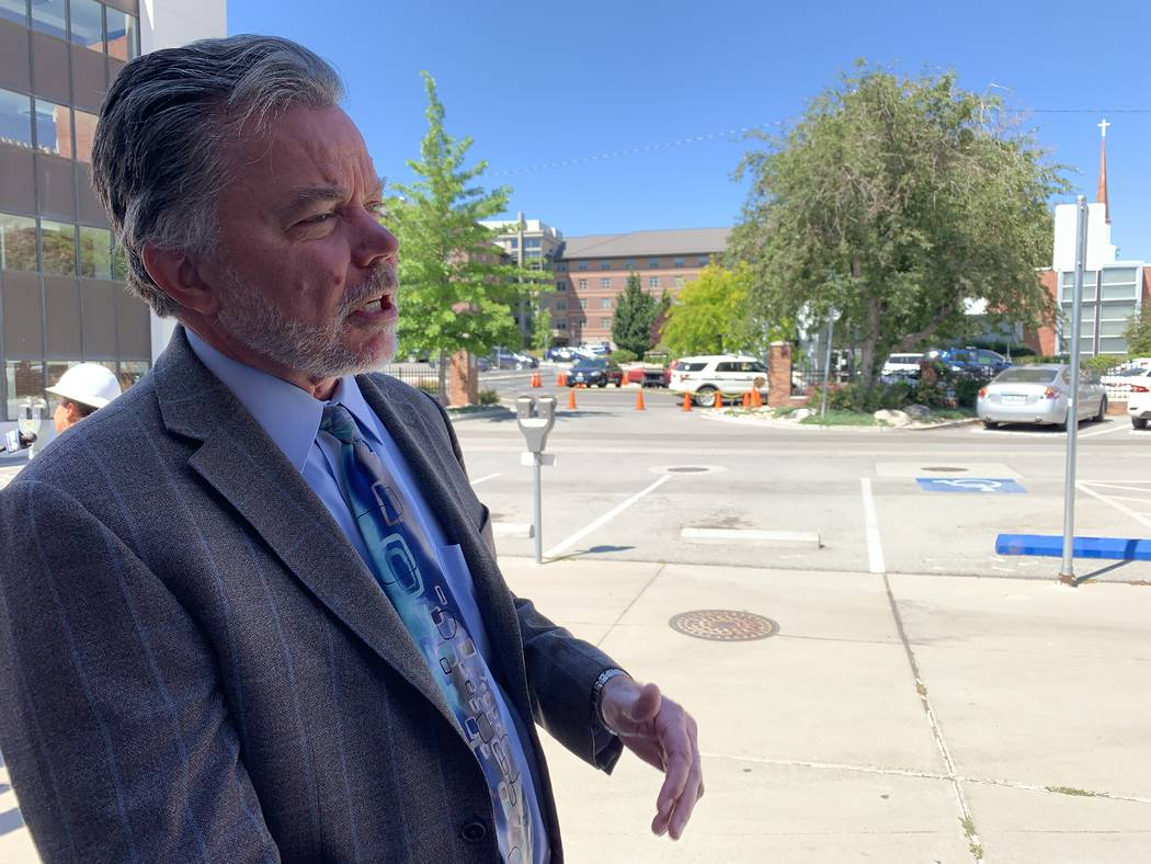 Kevin Carman, UNR executive vice president and provost, describes steps the university is takin ...