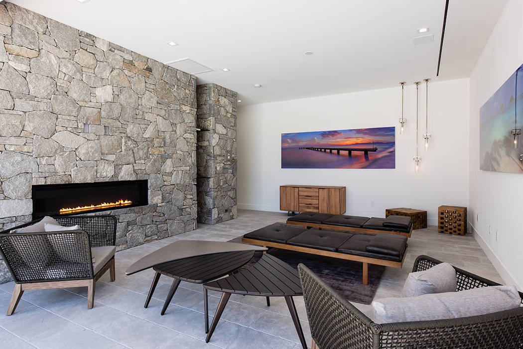 The homes are inspired by photographer Peter Lik's work. (Jewel Homes)