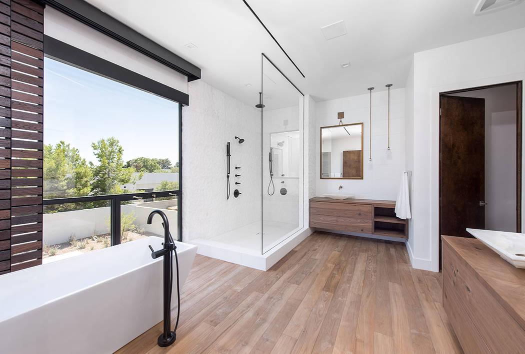 The master bath. (Jewel Homes)