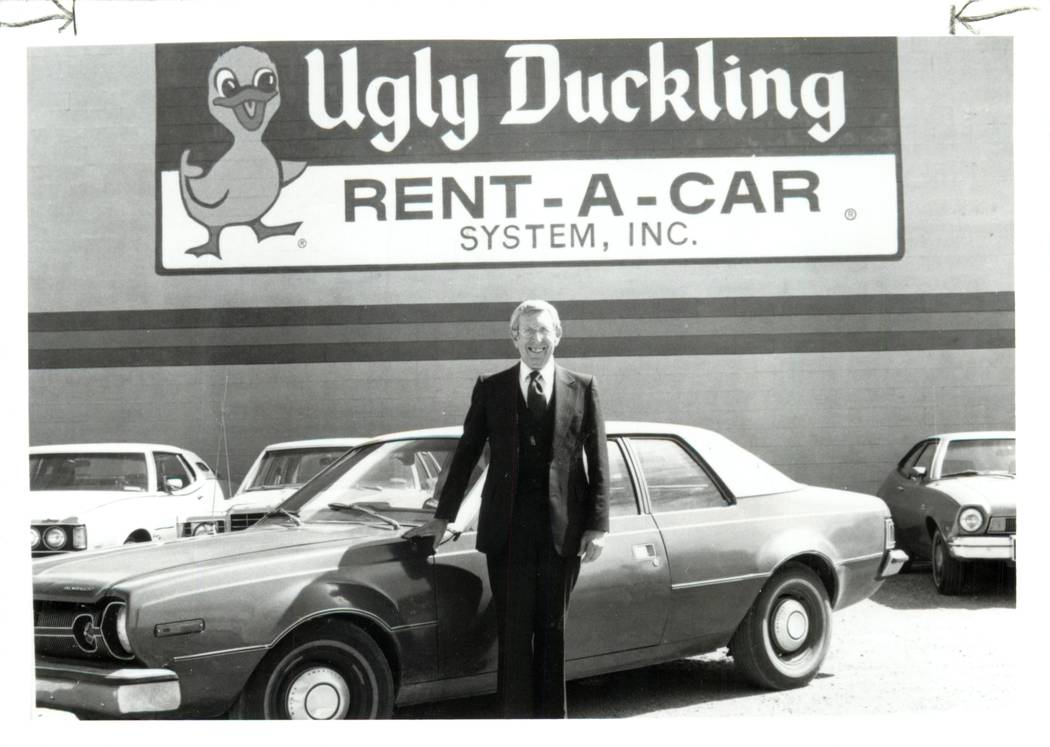 Tom Duck, founder and president of Ugly Duckling Rent-A-Car started the business when he was 64 ...