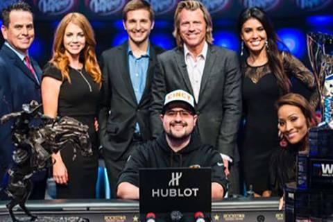 Dennis Blieden won the 2018 World Poker Tour L.A. Poker Classic $10,000 buy-in no-limit hold' ...