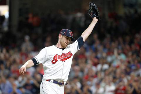 American League pitcher Shane Bieber, of the Cleveland Indians, was named MVP of the All-Star G ...