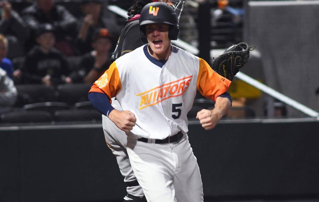 Corban Joseph is batting .396 with nine homers. (Las Vegas Aviators)