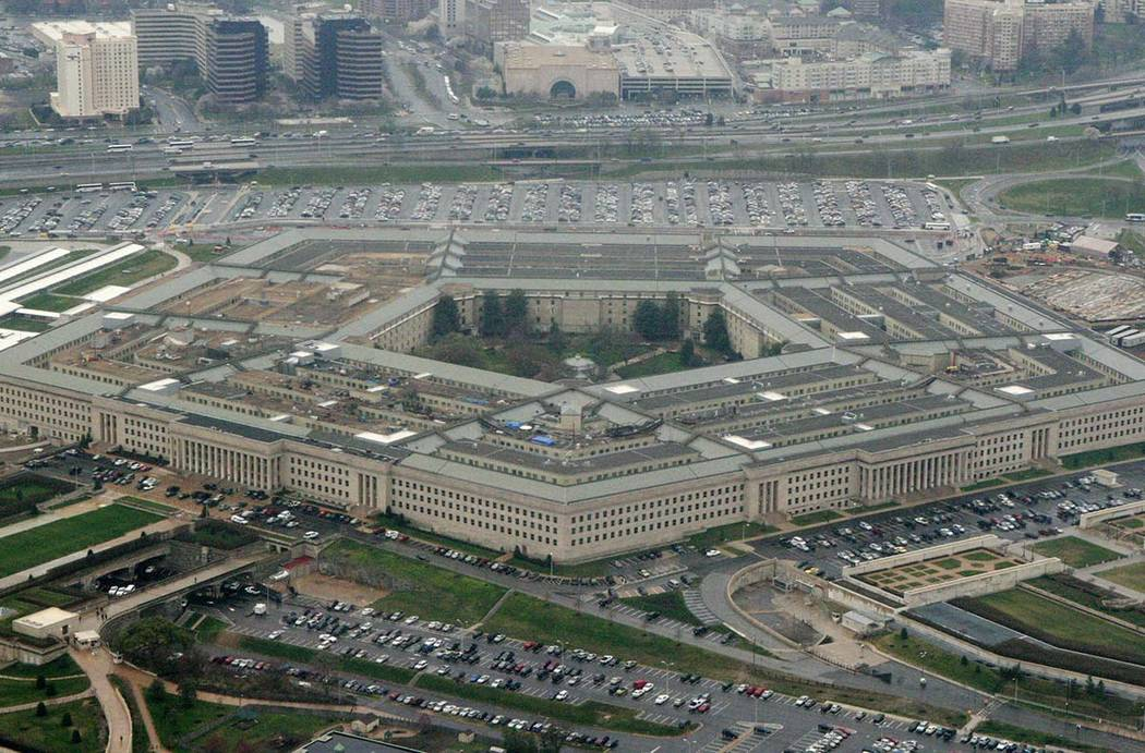 A March 27, 2008, file photo, shows the Pentagon in Washington. The Democratic-controlled House ...