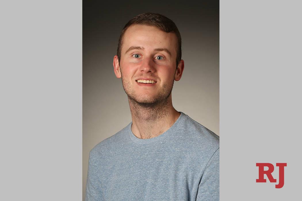 Sports Clerk Mason McFeephotographed in the RJ Studio on Monday, June 24, 2019. (Michael Blac ...