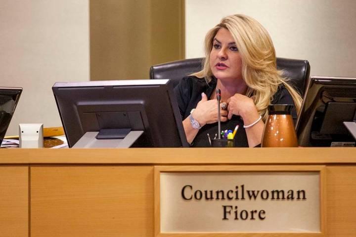 Councilwoman Michelle Fiore. (Patrick Connolly/Las Vegas Review-Journal) @PConnPie