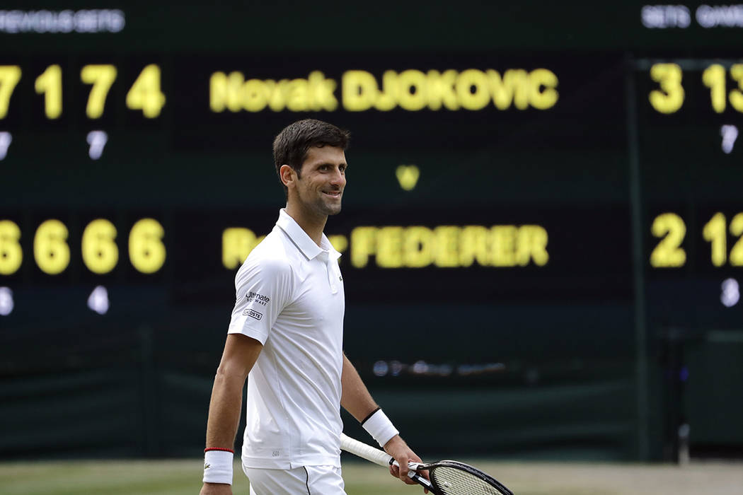 Djokovic outlasts Federer for 5th Wimbledon title | Las