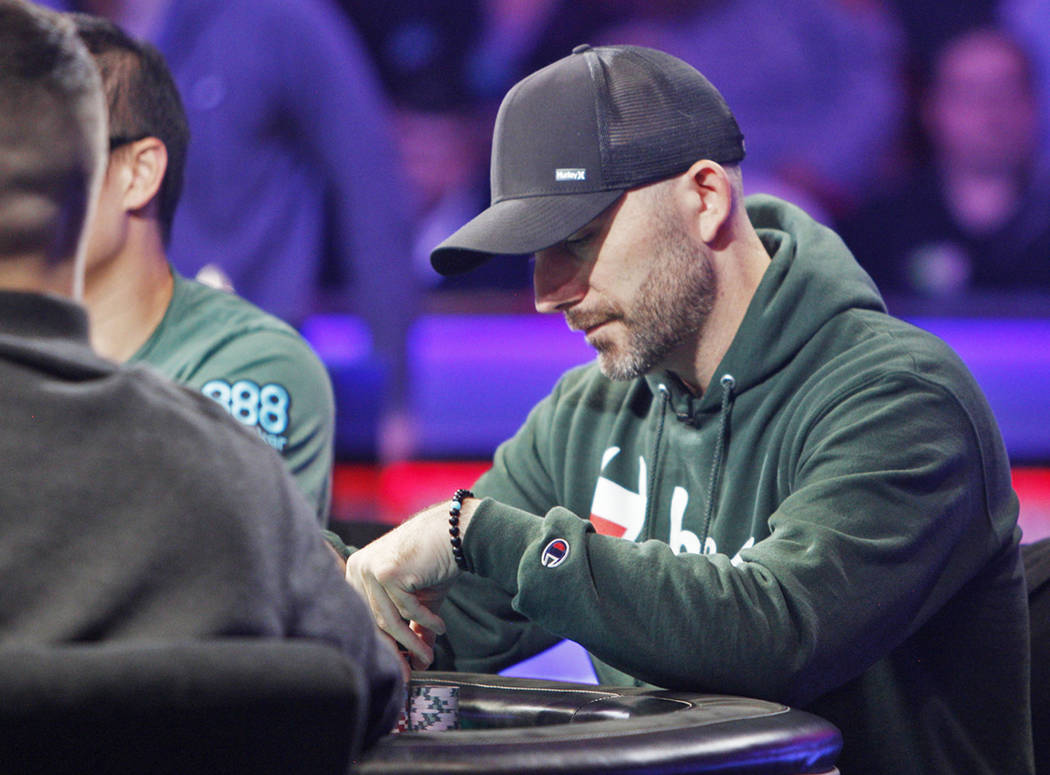Garry Gates at the main event final table during the World Series of Poker at the Rio hotel-ca ...