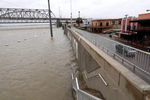 As the Atchafalaya River continues to rise due to the rains of Tropical Storm Barry, it becomes ...