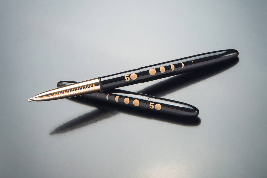 Fisher Space Pen, which is based in Boulder City, has created a special 50th anniversary editio ...