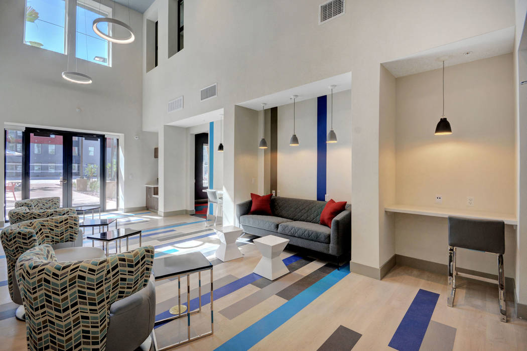 The Degree is a new 226-unit, student housing community on the campus of the University of Neva ...
