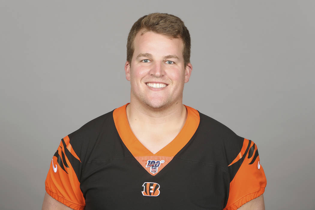 This is a 2019 photo of Clint Boling of the Cincinnati Bengals NFL football team. This image re ...