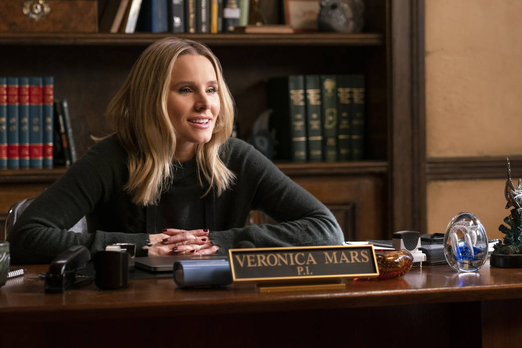 "Veronica Mars -- ""Chino and the Man"" - Episode 402 -- Veronica and Keith launch their ..."