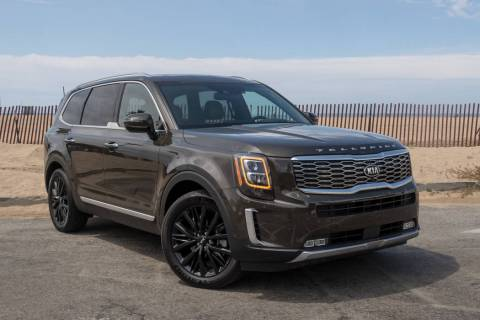 The 2020 Kia Telluride sport utility vehicle is available at Findlay Kia. (Findlay)
