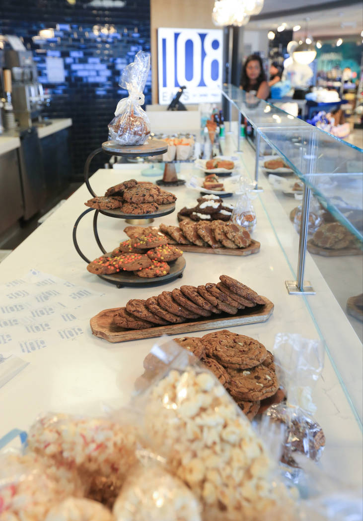 108 Eats is a new cafe by chef James Trees that features cookies, ice cream and sandwiches at t ...