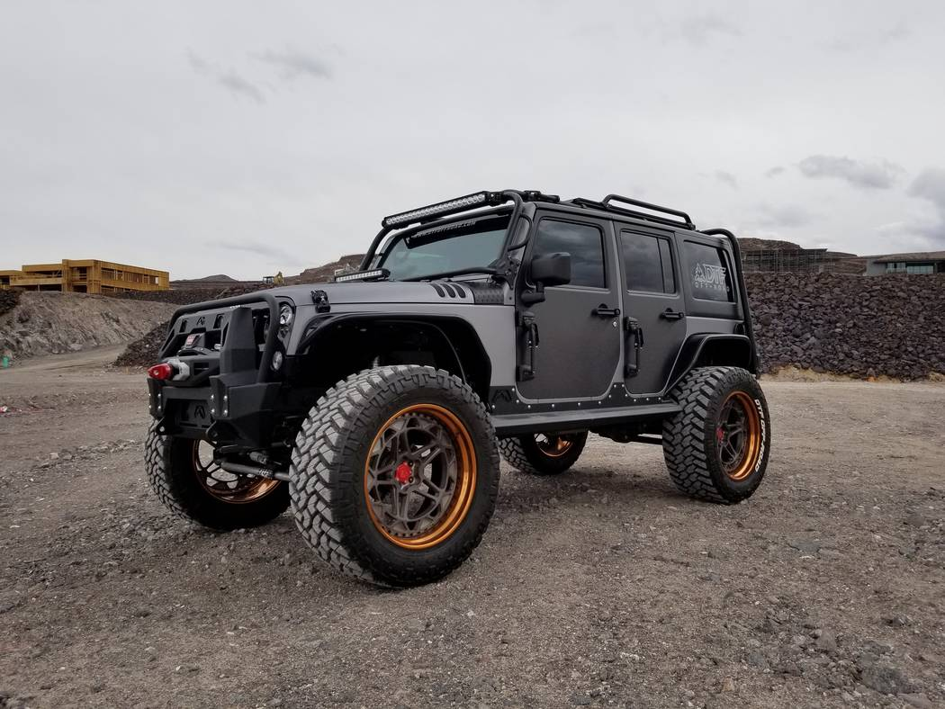 Homeowner Keith Jester explores the outdoors in his custom off-road Jeep Rubicon, which is one ...