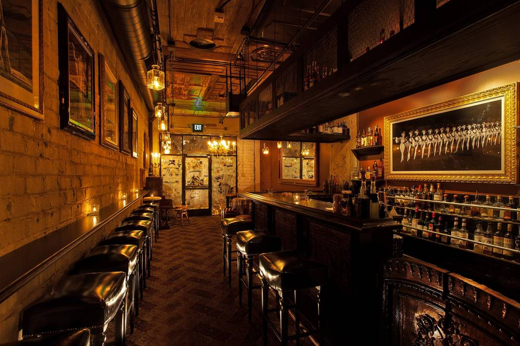 The Laundry Room in the back of Commonwealth has a menu that features more than 40 Prohibition- ...