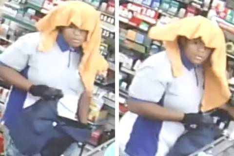 Police are looking for a suspect in an armed robbery that occurred Monday, July 15, 2019, in th ...