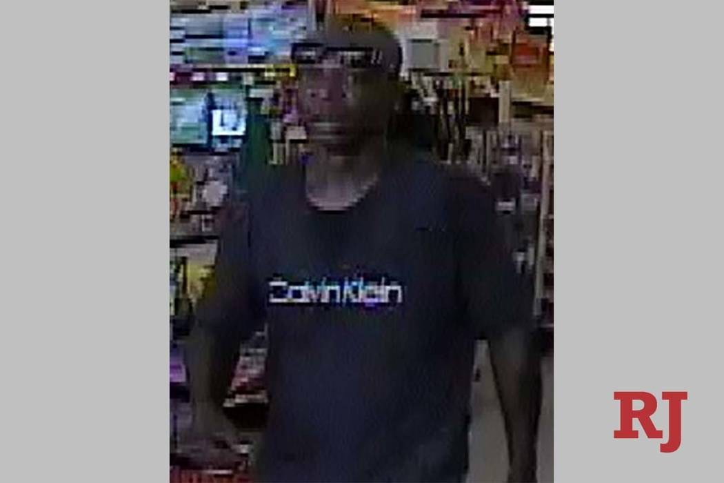 Las Vegas police are looking for a suspect in a robbery that occurred on Friday, July 12, 2019. ...