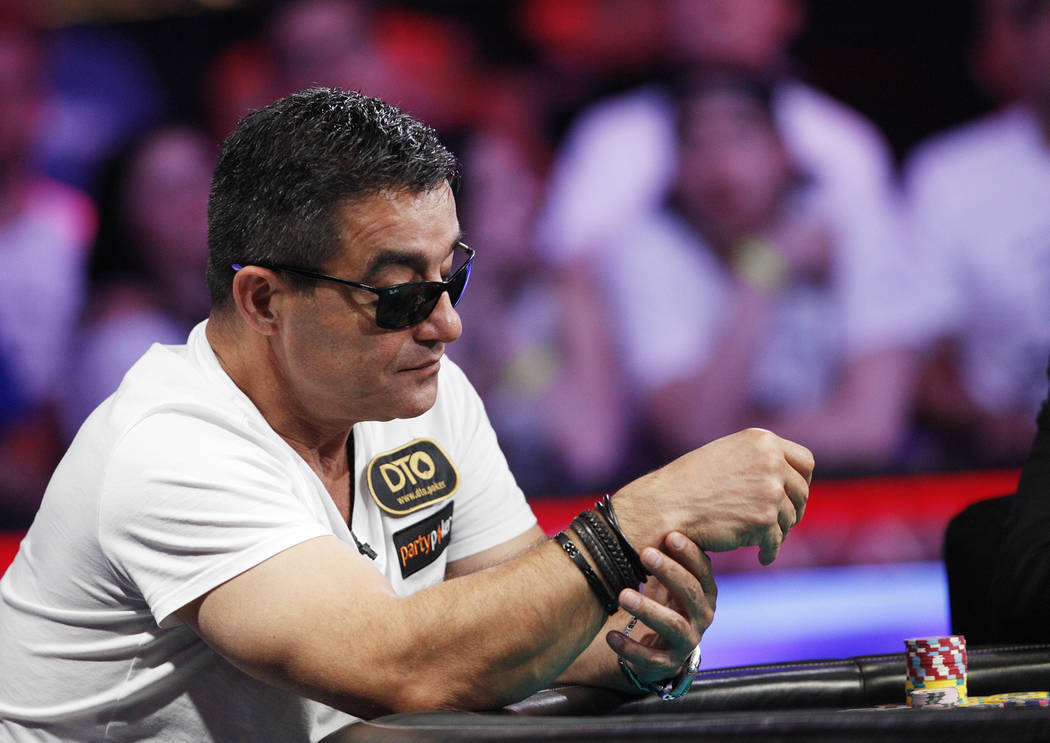 Hossein Ensan maintained his lead on the start of the second day of the main event final table ...