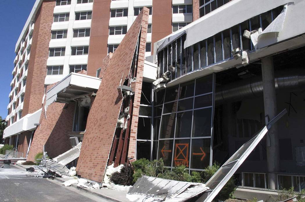 Structural engineers with experience responding to earthquakes and natural disasters are helpin ...