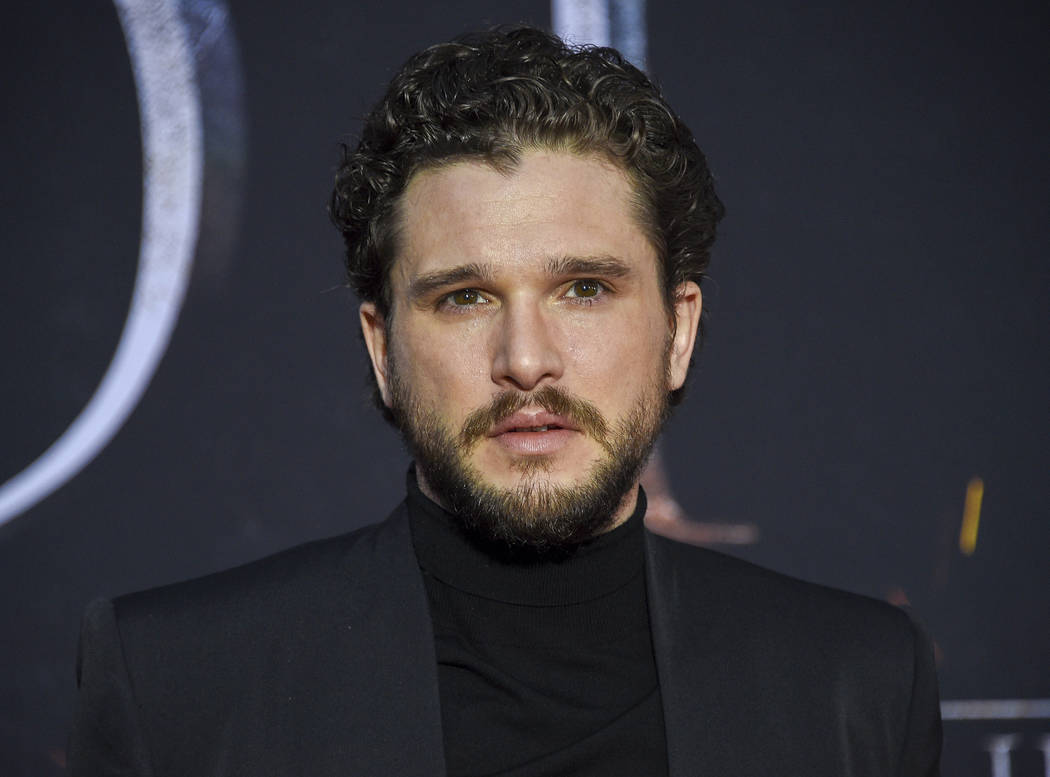 "FILE - This April 3, 2019 file photo shows Kit Harington at HBO's ""Game of Thrones"" f ..."