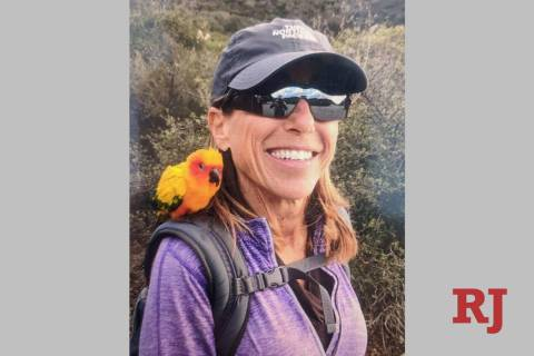 This undated photo released by the Inyo County, Calif., Sheriff's Office shows Sheryl Powell, w ...
