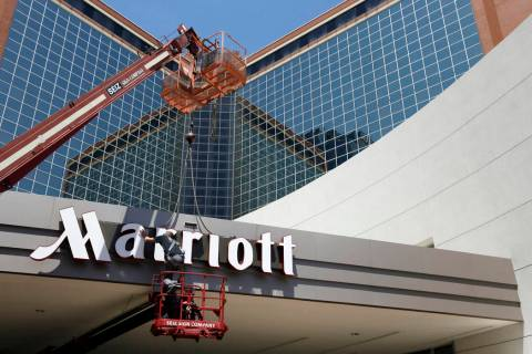 The CEO of Marriott International Inc. believes resort fees are here to stay. (AP)