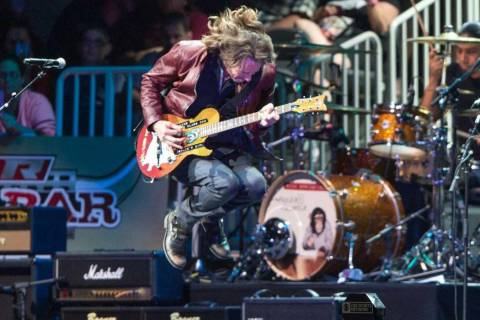 Rick Springfield headlines Night 2 of the five-day 2016 Built Ford Tough Professional Bull Ride ...
