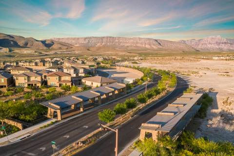 The village of Stonebridge in Summerlin has seven actively selling neighborhoods. (Summerlin)