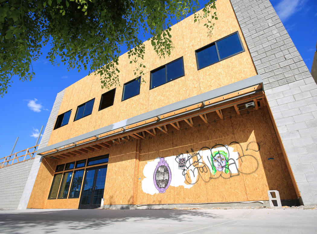 The Treehouse Las Vegas building at 1022 S. Main Street in Las Vegas on Friday, July 12, 2019. ...