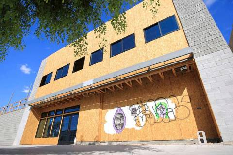 The Treehouse Las Vegas building at 1022 S. Main St. in Las Vegas on Friday, July 12, 2019. Bre ...