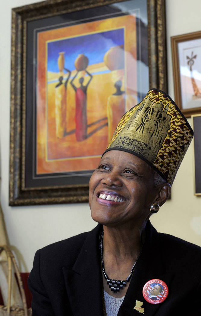 In this Feb. 17, 2010, photo, Sadie Roberts-Joseph, founder of the Odell S. Williams Now and Th ...