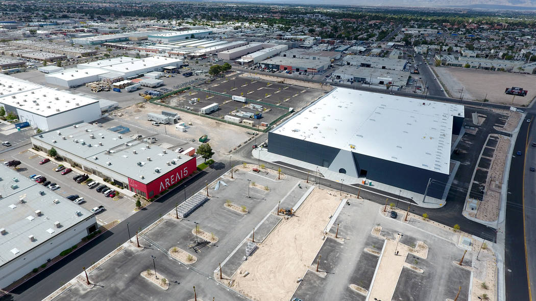 Area15, a 200,000-square-foot space near Interstate 15 and Desert Inn Road, will be home to bar ...