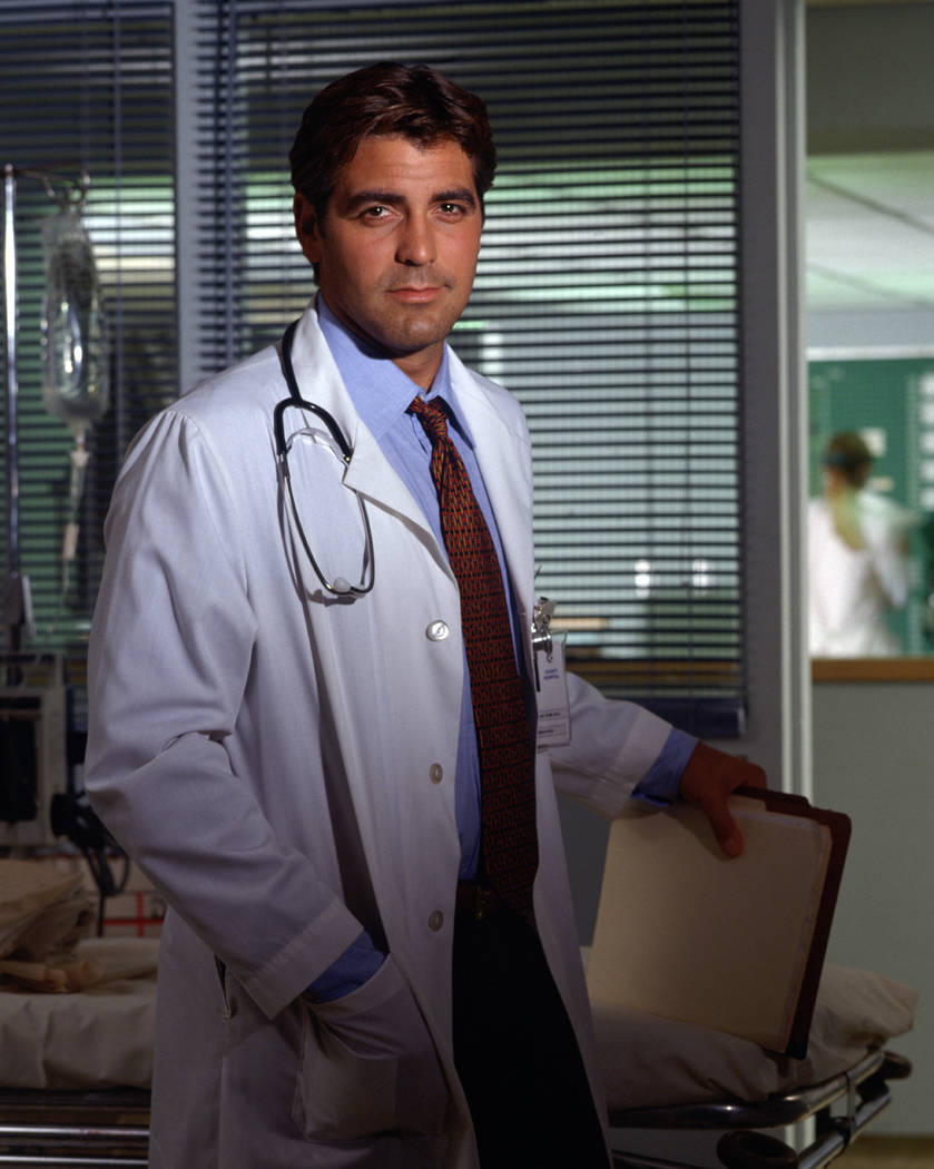 "FILE*** George Clooney in ""ER"""