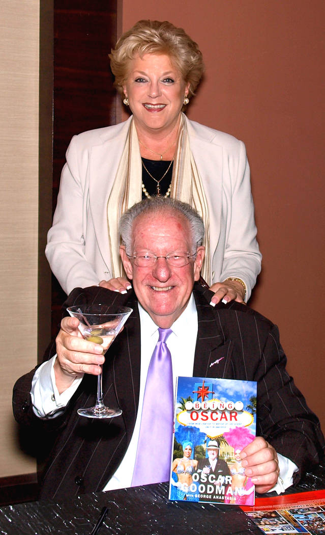 Oscar and Carolyn Goodman|||MARIAN UMHOEFER/REVIEW-JOURNAL Oscar and Carolyn Goodman