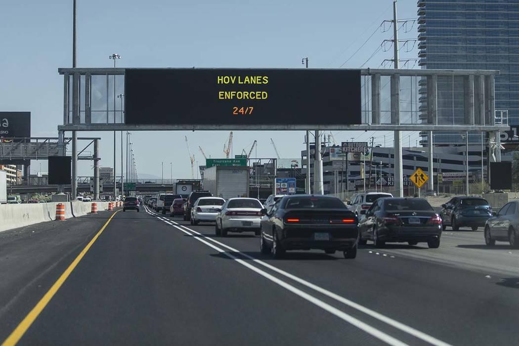 Carpool Lane Rules California >> Las Vegas Hov Lane Enforcement Carpool Lanes Las Vegas