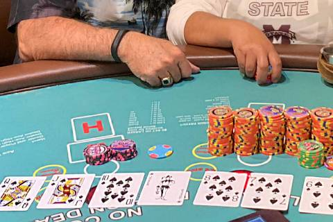 A Los Angeles resident won $110,000 when she hit a progressive jackpot on a pai gow poker table ...