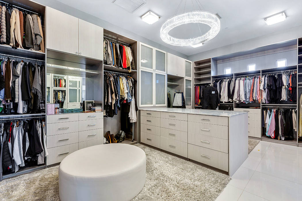 The closet is large and modern. (Ivan Sher Group)