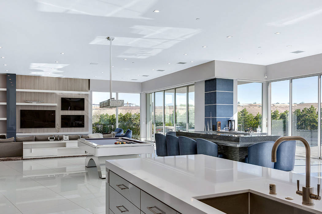 The kitchen connects to the great room. (Ivan Sher Group)
