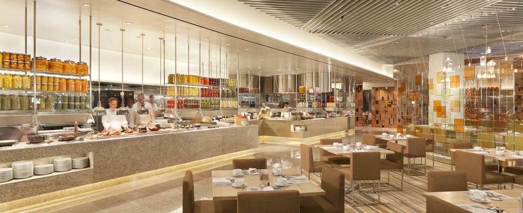 Caesars Palace reinvented their buffet a few years back and has several hundred offerings each ...