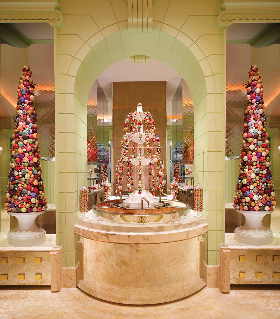 """The Buffet at Wynn Las Vegas has 120 selections and 15 cooking stations and a """"seafood specta ..."""