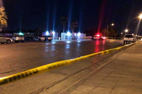 Las Vegas police are investigating a police shooting that happened Wednesday, July 17, 2019, in ...