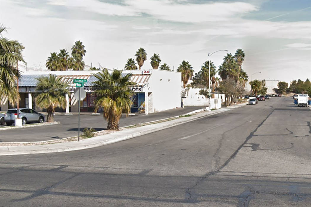 Raymert and Sandhill drives in Las Vegas (Google maps)
