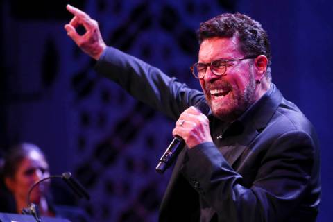 Clint Holmes will perform at Myron's Cabaret Jazz at The Smith Center for the Performing Arts ...